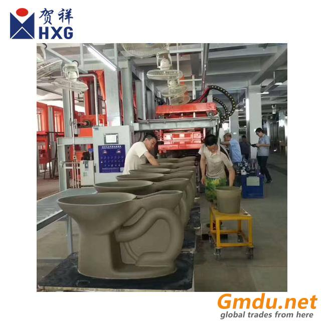 high pressure casting machine for toilet bowl, wash basin, pedestal