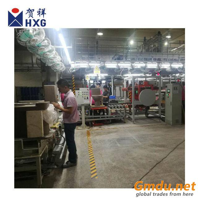 High pressure casting machine for one piece toilet