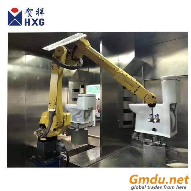 robotic glazing machine