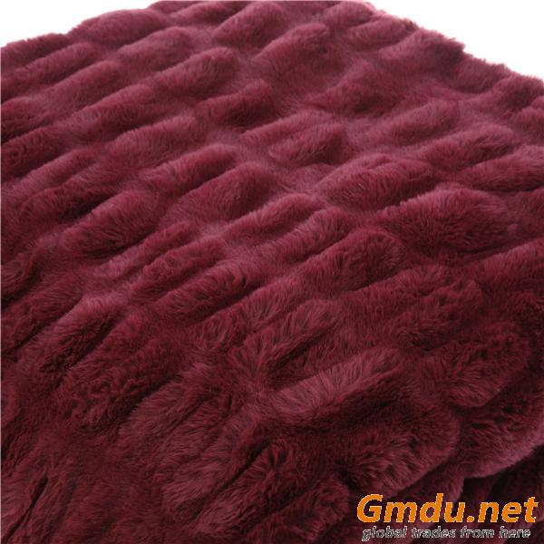 Elastic Rabbit Fur Blanket
