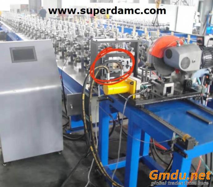 Steel Roll Forming Machine for Cabinet Frame 9 Fold Profiles