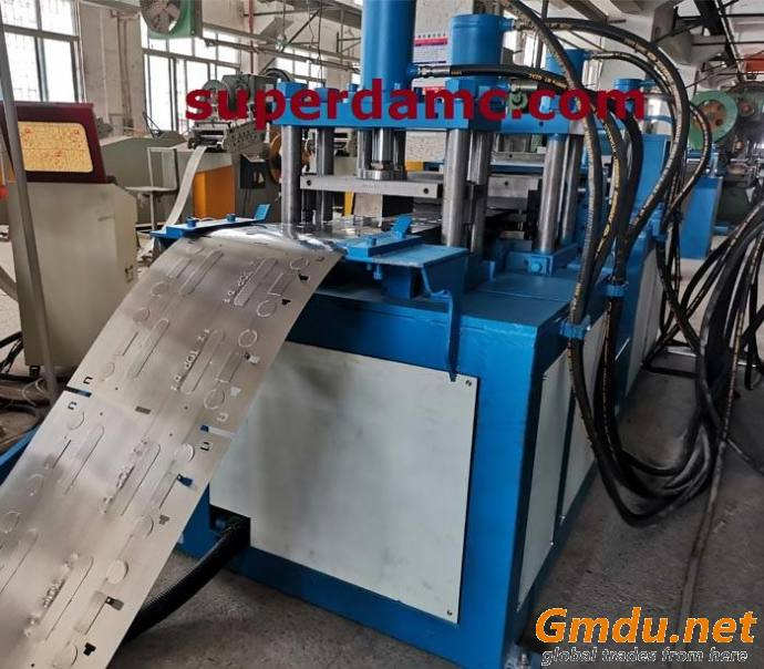 Electric Cabinet C Channel Roll Forming Machine