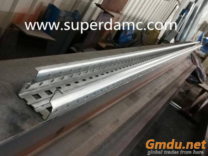 Supermaket bulk rack shelf roll forming machine for upright beam