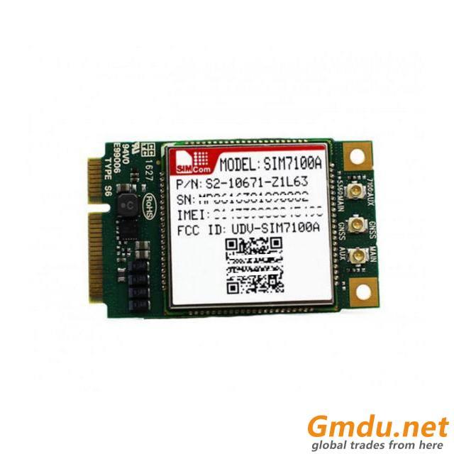 SIMCOM SIM7100A Mini PCIE 4G Embedded quad-band LTE Module