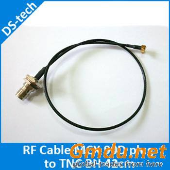 RF Cable Assemblies TNC connector to MCX connector 90D