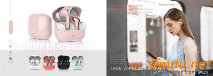 Ture Wireless Stereo Earbuds - SS-TW036B