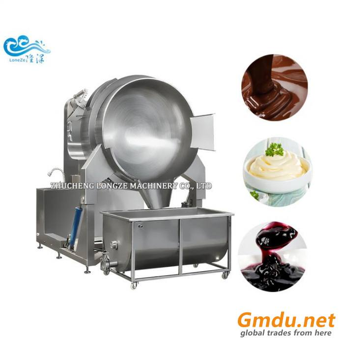 100Liter Industrial Steam Jacketed Cooking Kettle