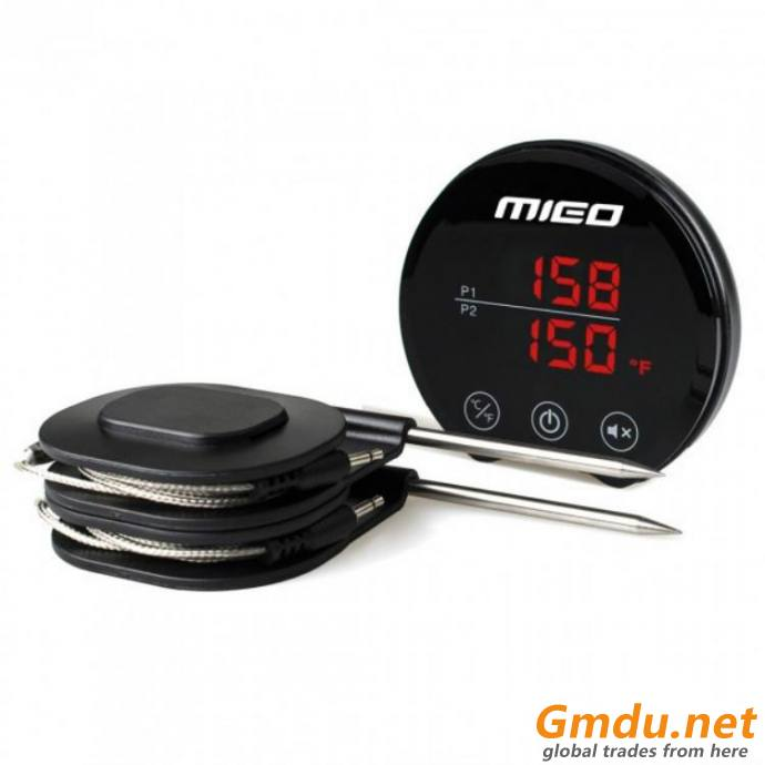 Dual Probe for Smoker Grill BBQ Thermometer