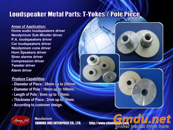 Speaker t-yoke/ washer, speaker parts,speaker components