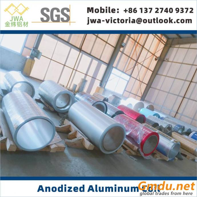 Customized Anodized Aluminum Coil, Multiple Color Anodized Aluminum Sheet for Interior Decoration