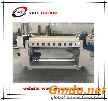 Single facer line for 2 ply corrugated cardboard sheet