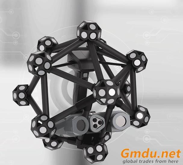 high stregth 50/40mm Diameter carbon fiber tube for optical 3D scanner scanning systems