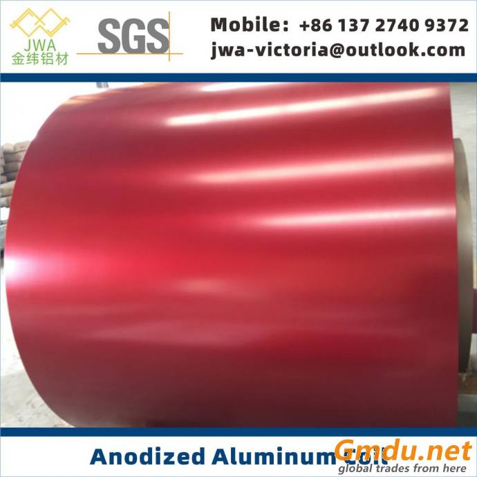 Anodized Aluminum Coil, Anodic Aluminum Sheet, Metal Facade Materials, Column Cover Materials