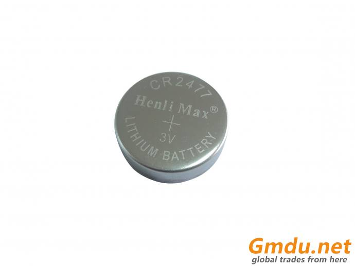 CR2477 Henli Max Lithium Button Cell