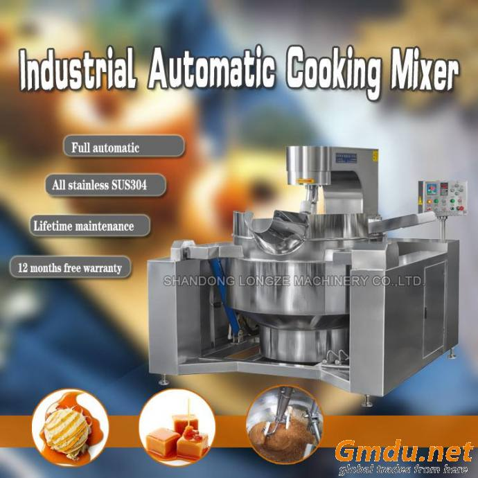 Gas/fire Industrial Cooking Mixer Machine Fried Caramel Sauce