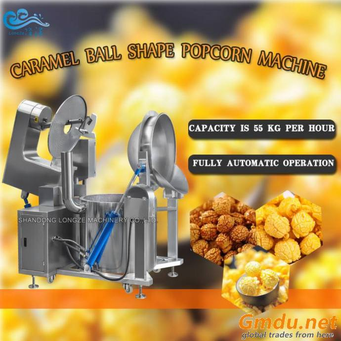 99% Molding Rate Comercial Full Automatic Sweet Popcorn Making Machine