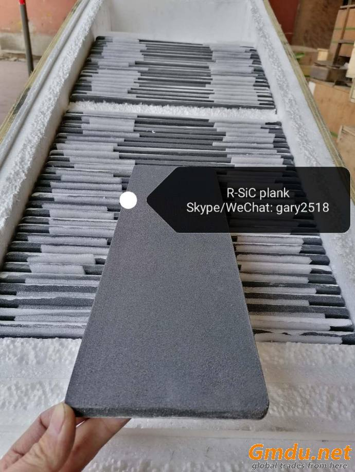 RSiC plate with Silicon carbide ceramic(ReSiC plates SiC Slab Batts)