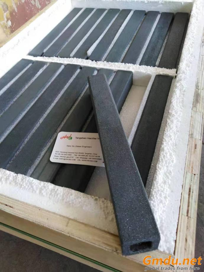 silicon carbide beam as kiln furniture(SiC beam support Post) RSIC beams