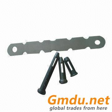 aluminum form tie used with pin & wedge in concrete building