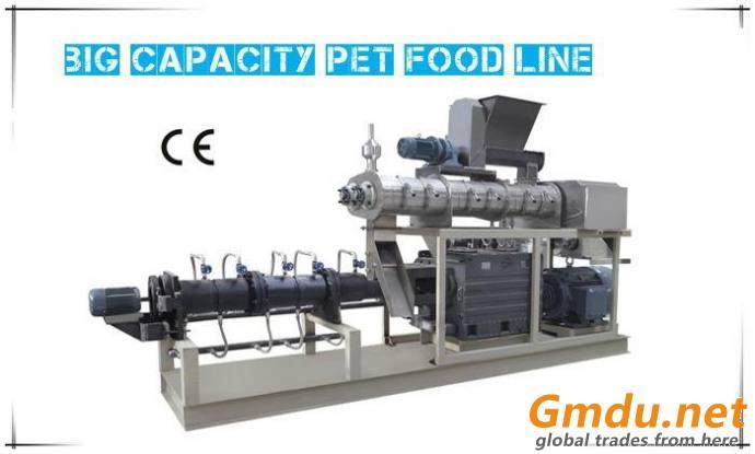 Big Capacity Pet Food Line