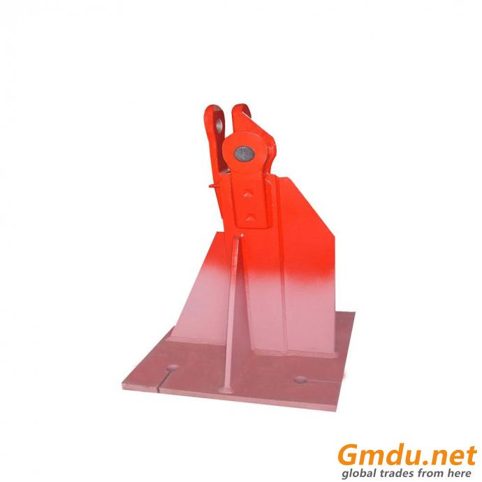 L46A1 Tower Crane Equipment Parts Embedded Base Foot Fixing Angle