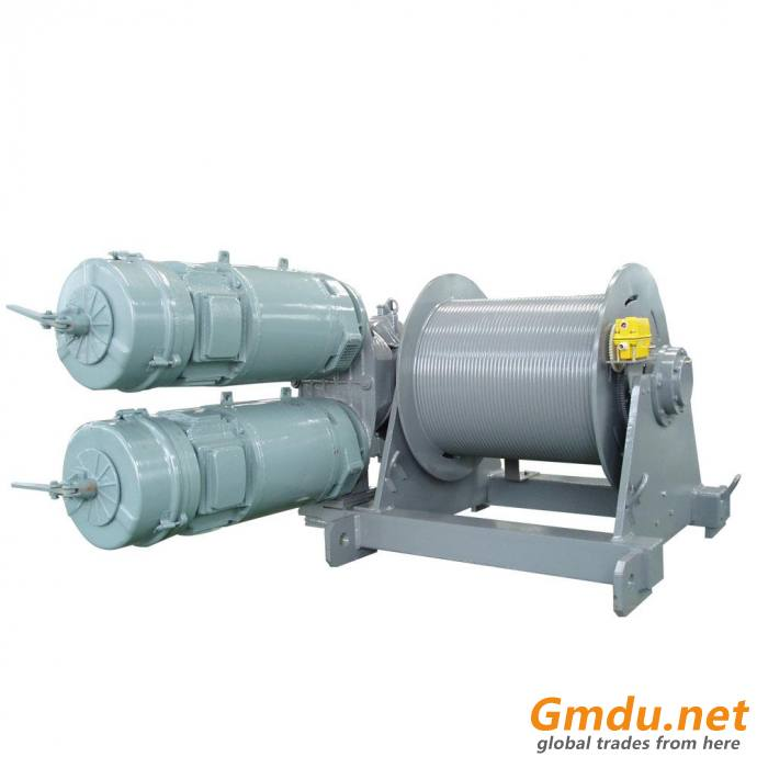 Tower Crane Hoist Winch RCS Series of Hoisting Mechanism
