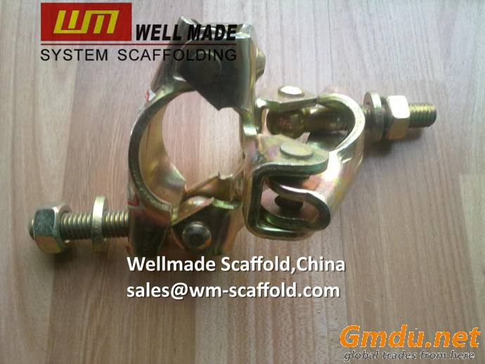 Scaffold Tubular Fitting Double Fixed Coupler Building Construction Clamp