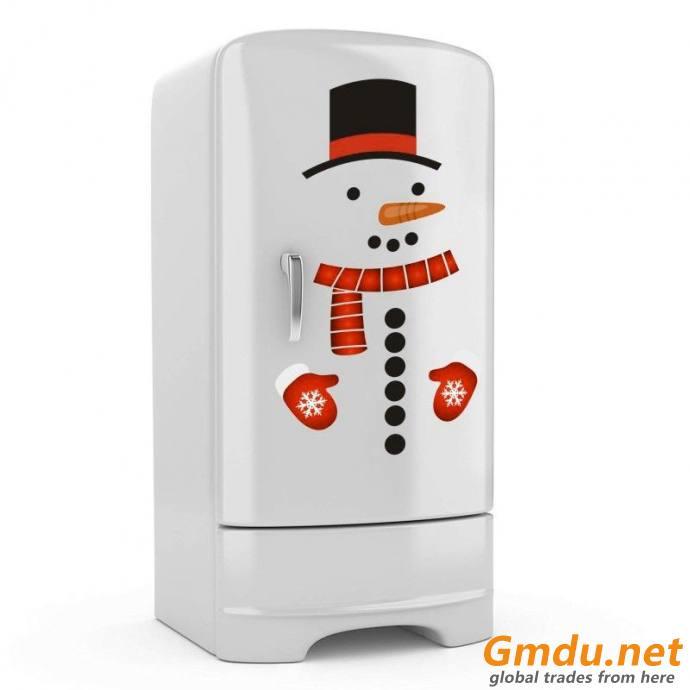 DIY Fridge Sticker Snowman supplier