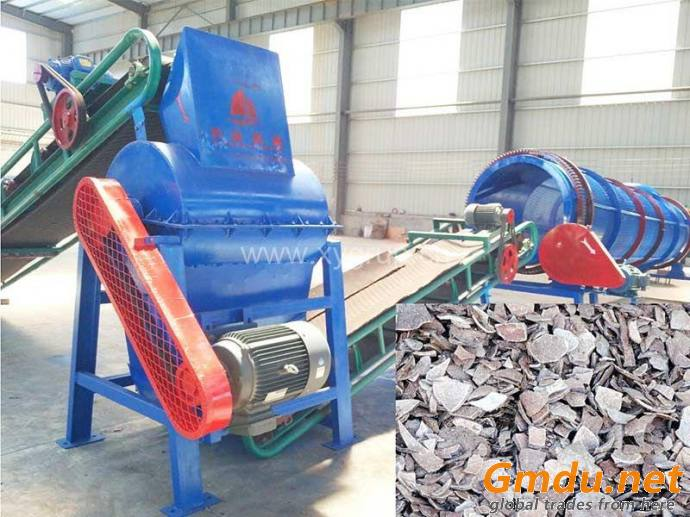 Easy operation high efficiency coconut shell charcoal crusher