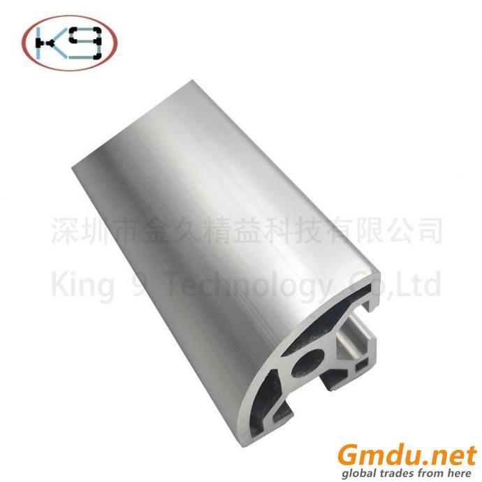 various types of aluminum profiles