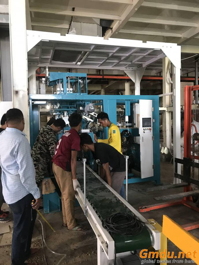 Fully Automatic Packing Palletizing Line