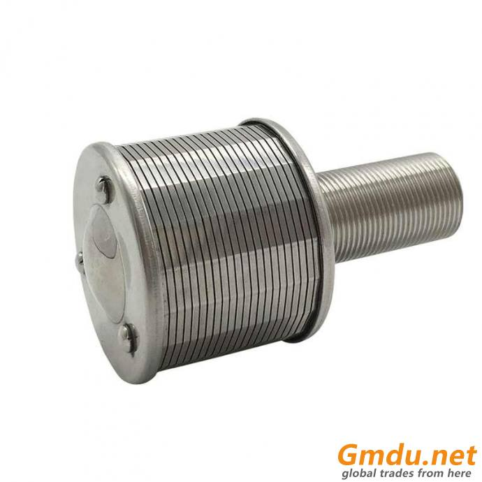 SS Wedge Wire Screen Filter Nozzle