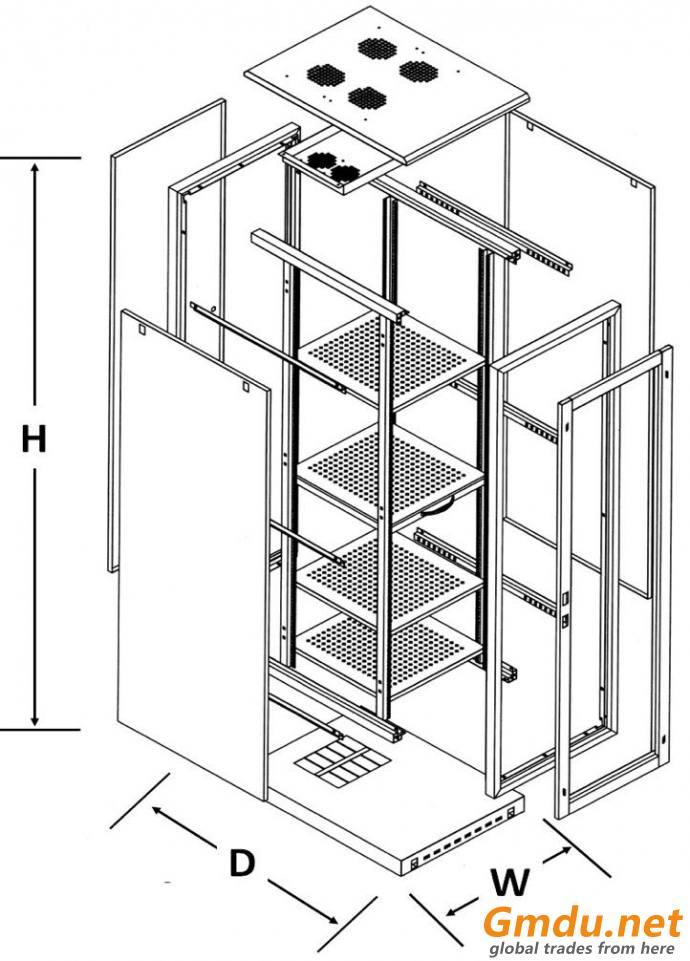 "19"" Rack cabinet"