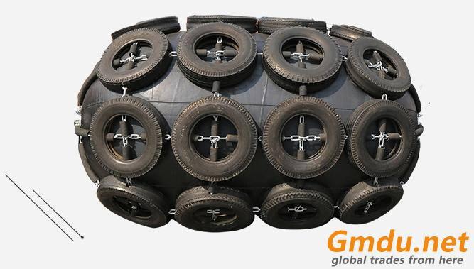 Marine pneumatic rubber fender