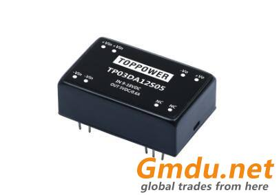 TOPPOWER 3W Wide Range Input Voltage DC/DC Converters
