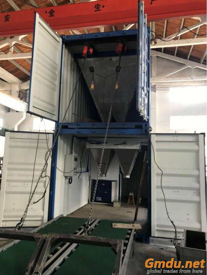 Containerised Bagging System, Mobile Bagging Unit, Mobile Containserized Bagging Unit