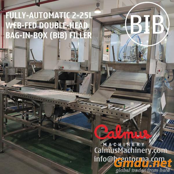 Fully-automatic Double-Head BiB Filling Machine Bag In Box Filler
