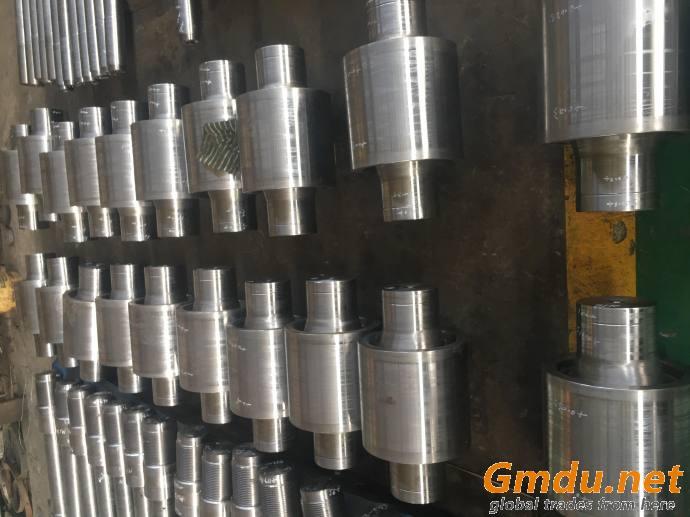 Steel base roller