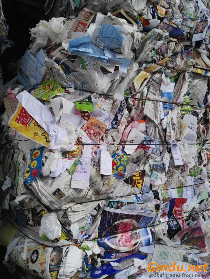 Sell waste paper Old Newspaper (ONP) 800MT/month