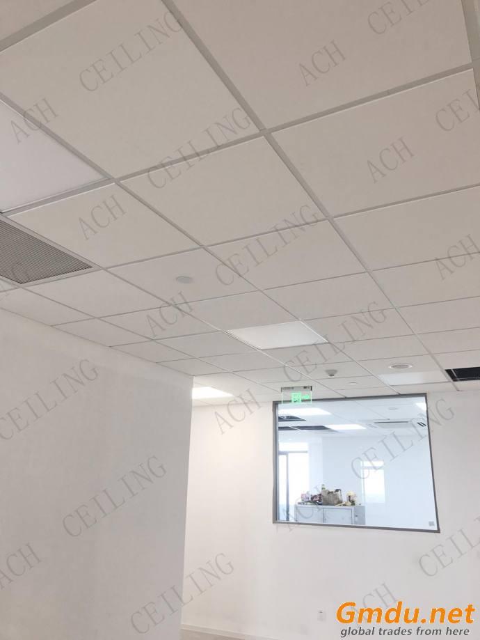 Acoustic Rockwool/Mineral fiber Ceiling Tiles Stone Wool Ceiling Boards