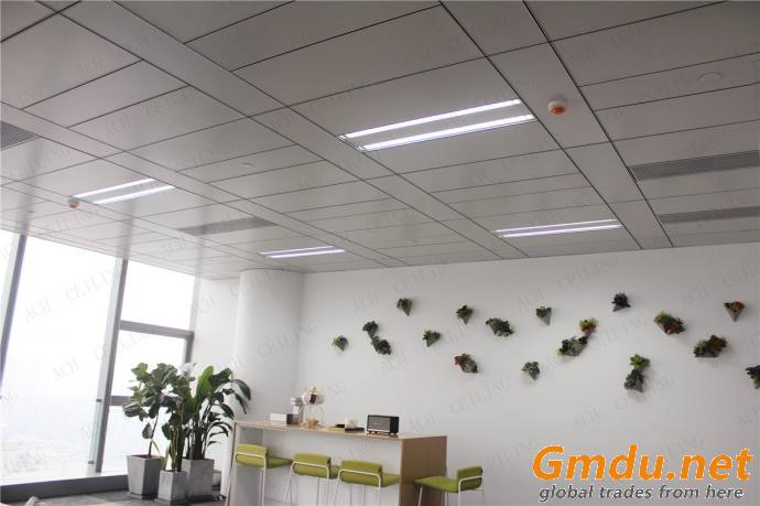 Fire-Proof Construction Material Aluminum Acoustical Ceiling