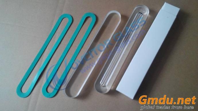 Level gauge glass including transparent gauge glass and reflex gauge glass
