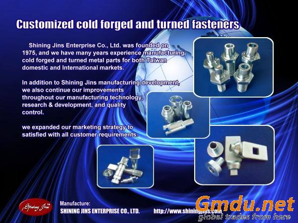 Screws Rivet Pins Bolt and Fasteners made in Taiwan