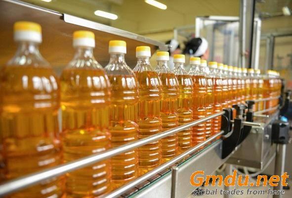 Sunflower crude oil
