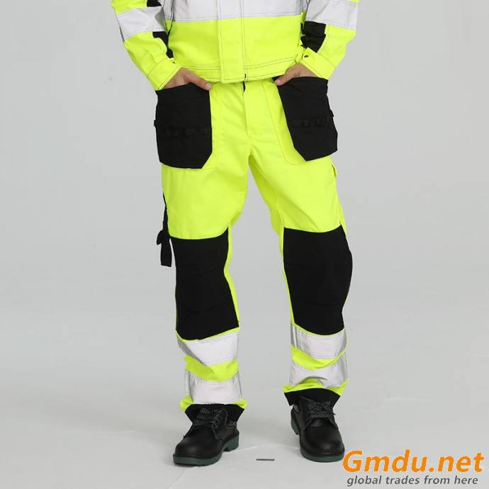 Hi -Vis flame retardant cargo pants for men