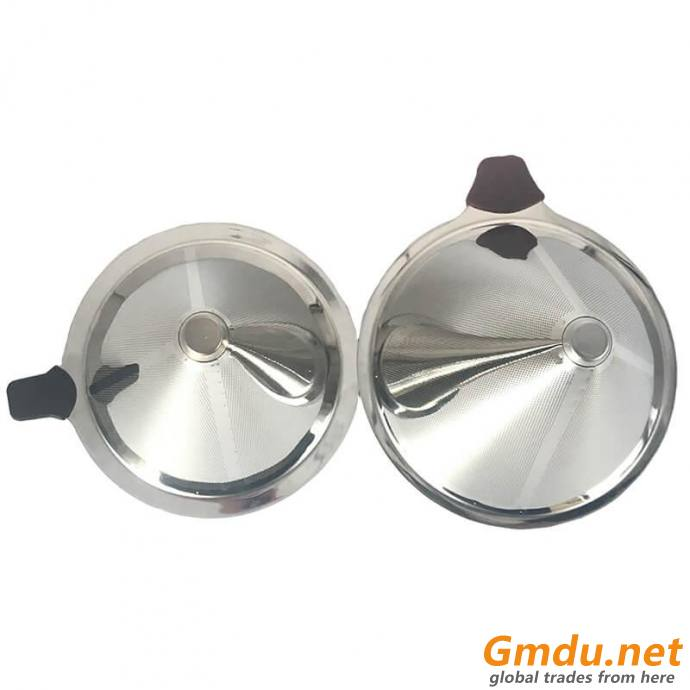 Food Grade Stainless Steel Coffee Filter and Coffee Strainer