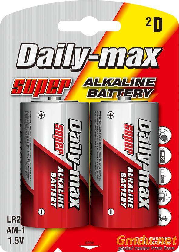 LR20 Alkaline Battery
