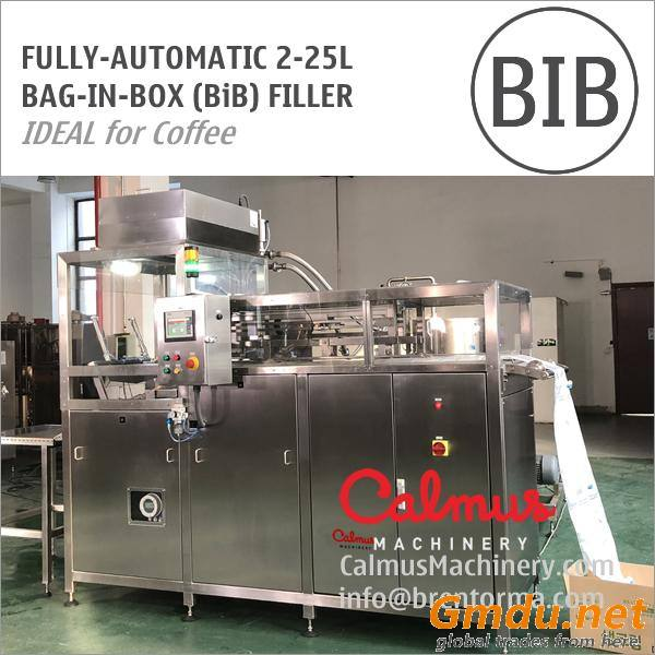Fully-automatic BiB Coffee Filler Equipment Bag-in-Box Filling Machine