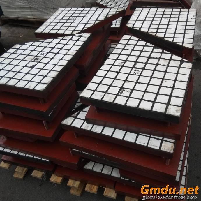 92% Alumina Ceramic Rubber Wear Liner for Conveyor Chute