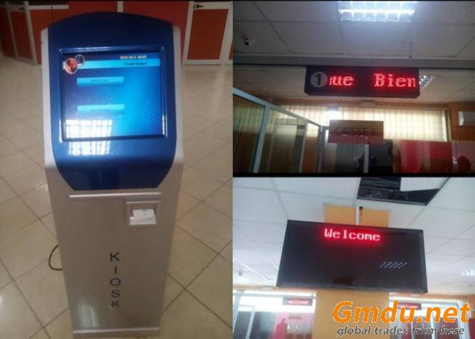 Bank/Hospital/Clinic Queue Management System